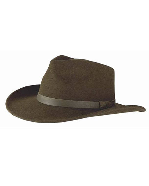 Hoggs Perth Crushable Felt Hat