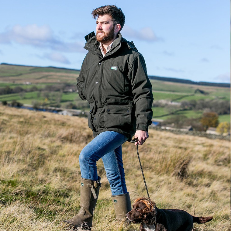 Ridgeline Torrent Euro II Jacket Olive is fully waterproof and extremally warm