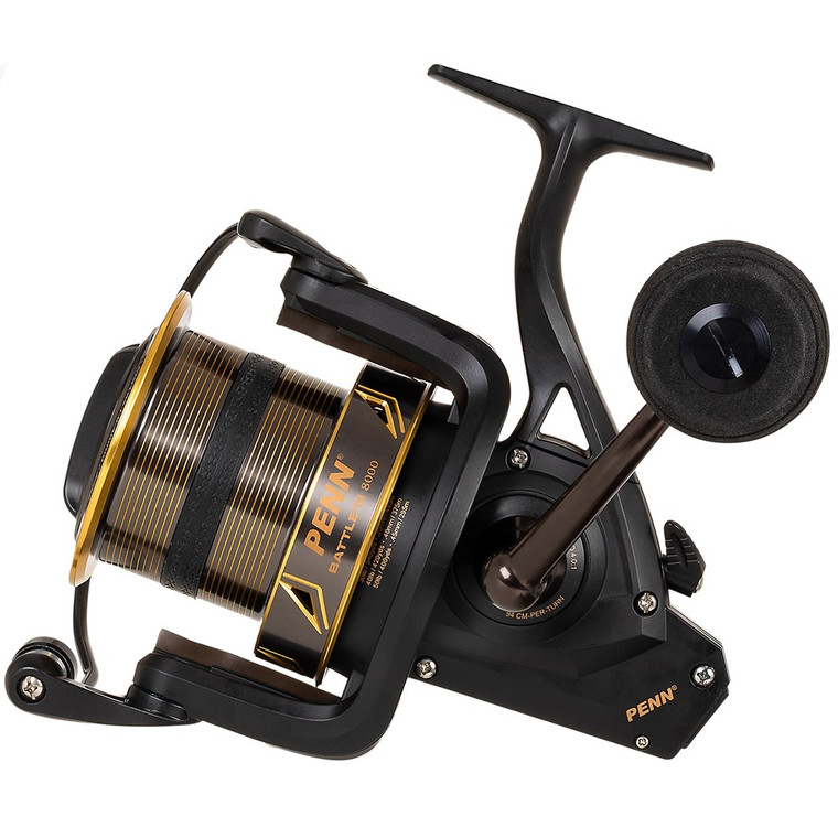 New 2020/21 - Penn Battle III 7000 LC Long Cast Fixed Spool Surf Reel