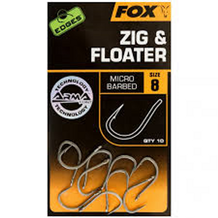 Fox Edges Zig and Floater Hooks _ Keens Tackle and Guns