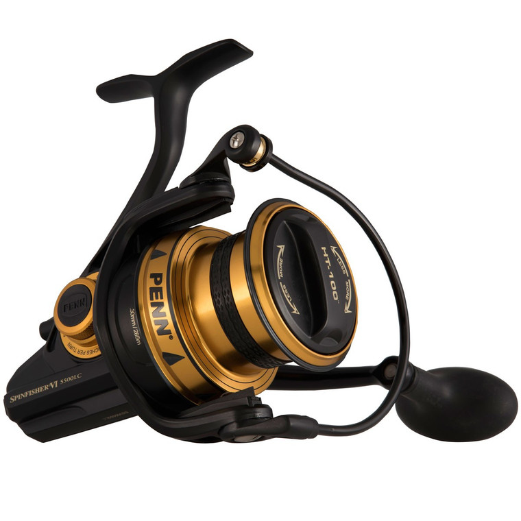 Penn Spinfisher VI 7500 LC Fixed Spool Reel with IPX5 Sealed Body and spool design