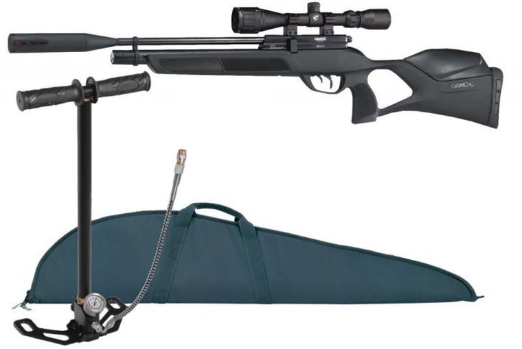 Gamo Phox .22 Precharged Air Rifle Combo