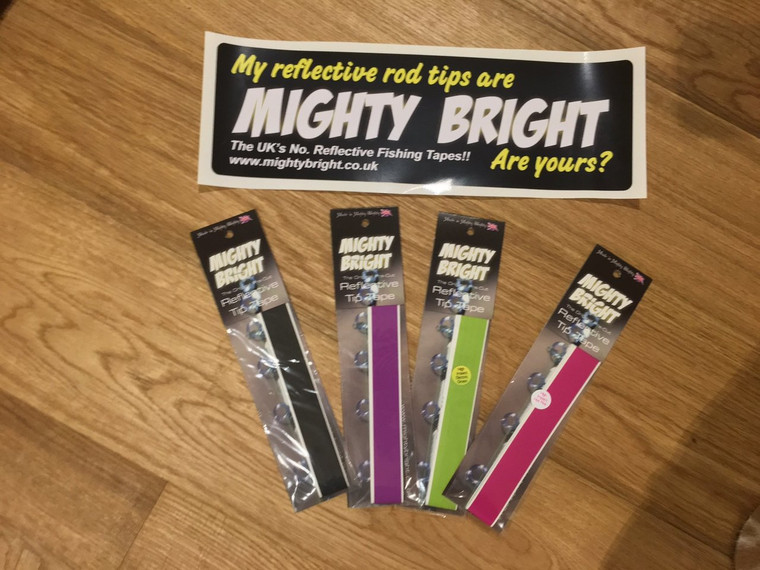"Mighty Bright Premium Reflective Tip Tape (12"")"
