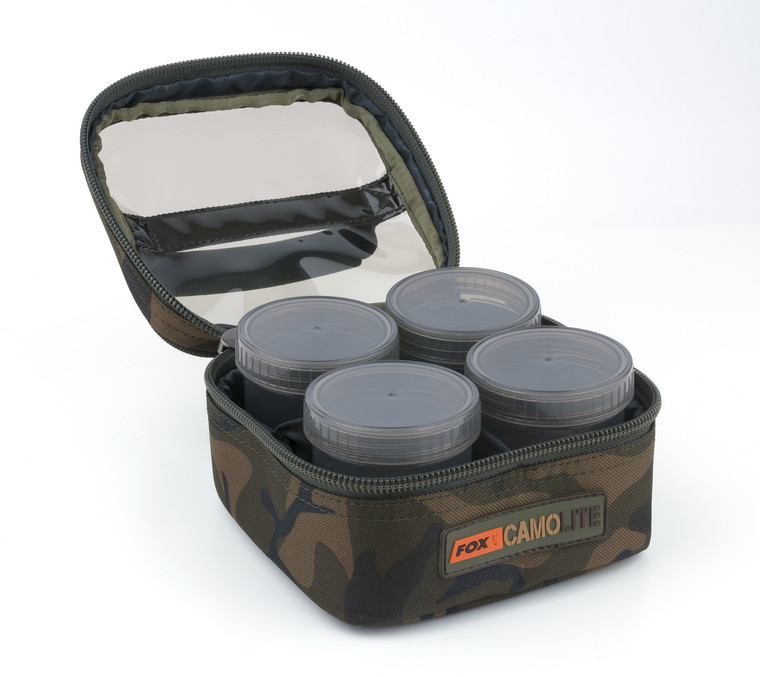 Fox Camolite Glug 6 Pot Case - Keens Tackle and Guns