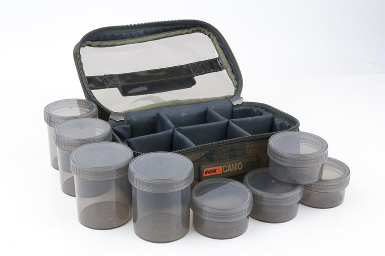 Fox Camolite Glug 8 Pot Case - Keens Tackle and Guns