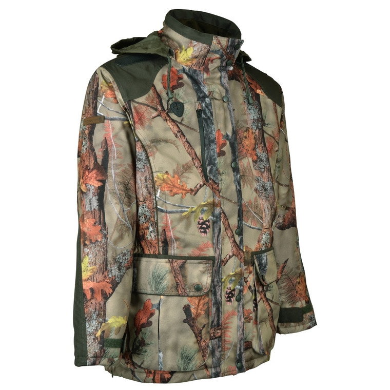 Percussion Brocard Ghost Camo Forest Hunting Jacket - Keen's Tackle and Guns