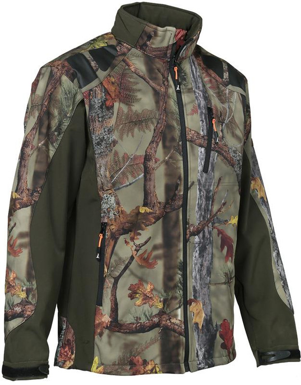 Percussion Softshell Camoflauge Jacket