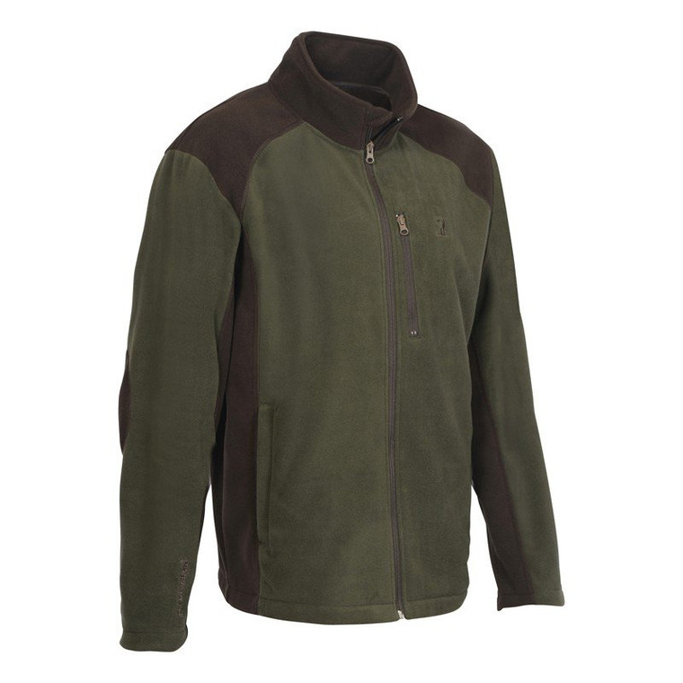 Percussion Fleece Hunting Jacket in olive