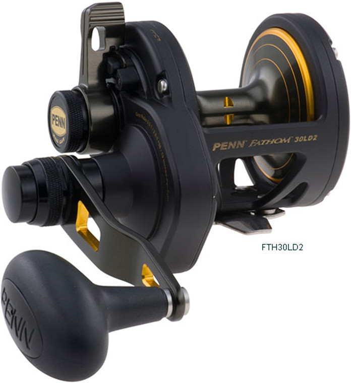 Penn Fathom 30LD 2SP Lever Drag Fishing Reel Keens Tackle and guns