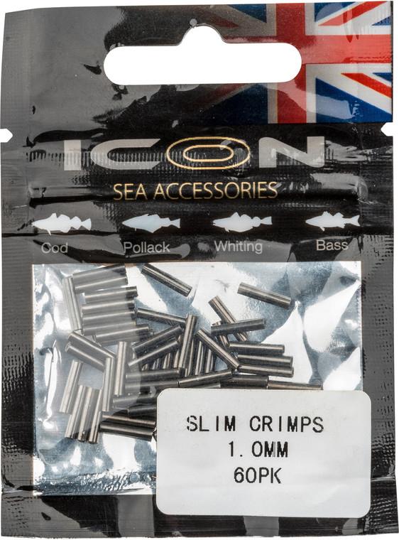 ICON Slim Crimps 1mm (60pk)