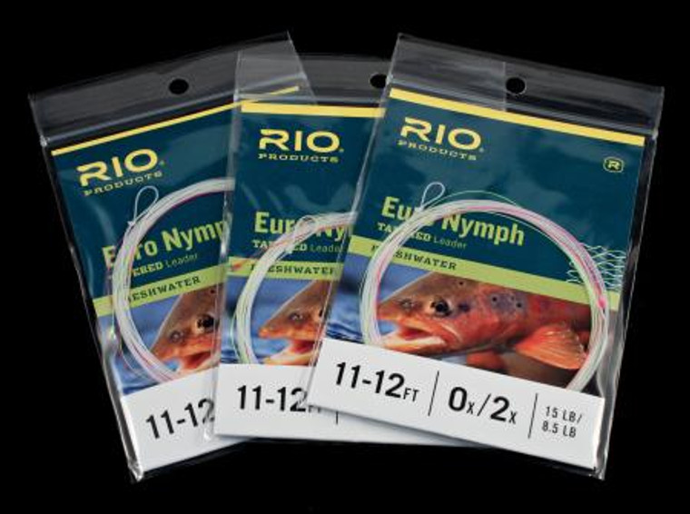 Rio Euro Nymph Tapered Leaders