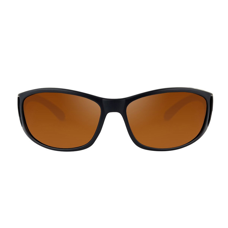 Fortis Wraps Polarised Sunglasses - Brown Lense