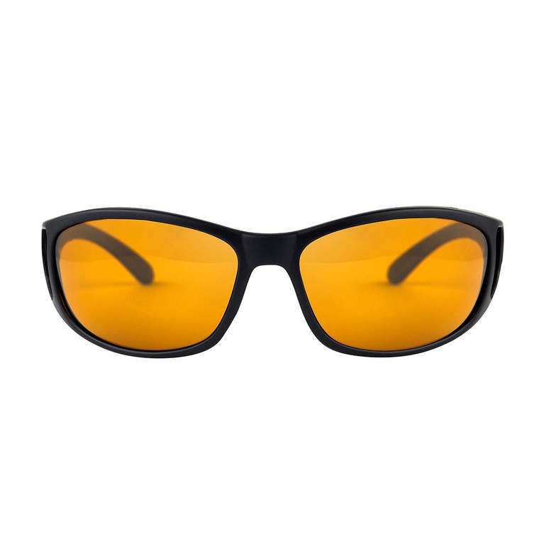 Fortis Wraps Polarised Sunglasses - Amber Lense