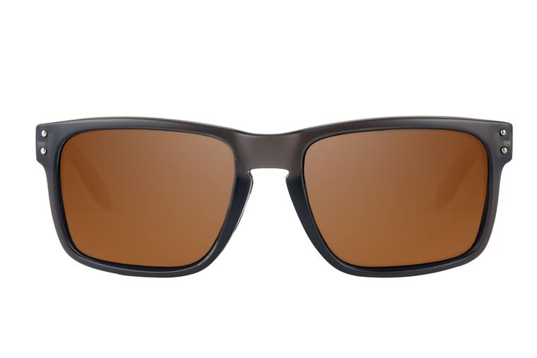 Fortis Bays Polarised Sunglasses - Brown Lense (no XBlok)