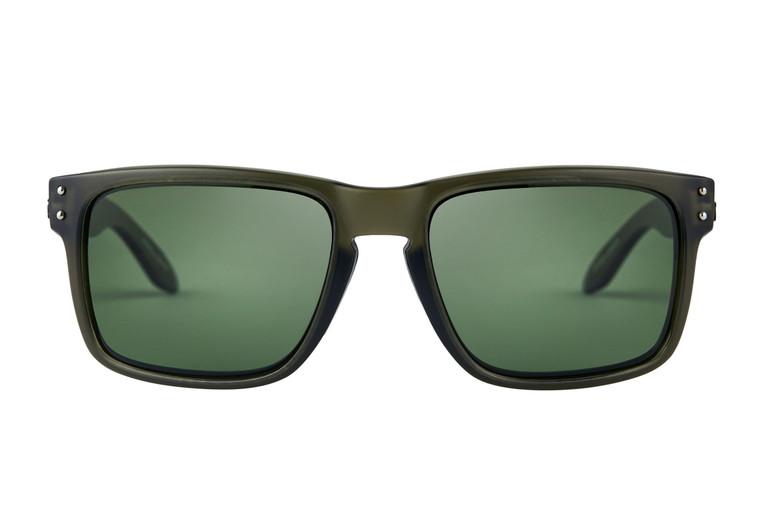 Fortis Bays Polarised Sunglasses - Green Lens (no XBlok)