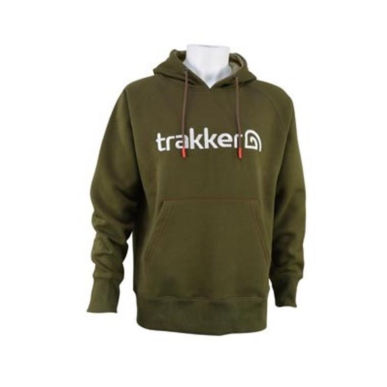 Trakker Logo Hoody front