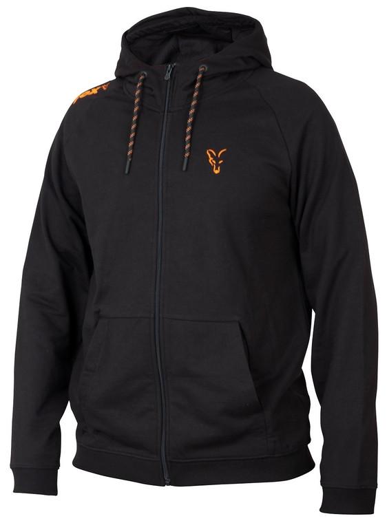 Fox Collection Orange & Black Lightweight Hoodie