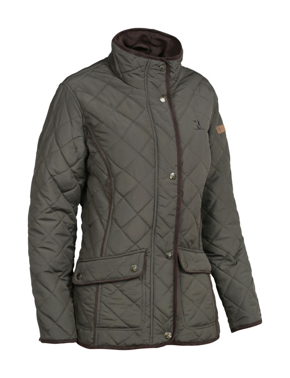 Ladies Brown Lightweight, Quilted Jacket. Country clothing for women