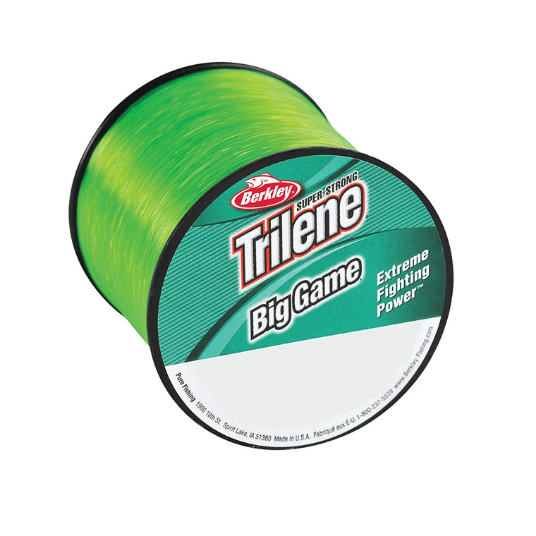 Berkley Trilene Big Game 65lb Solar Green - 600m Heavy Mono