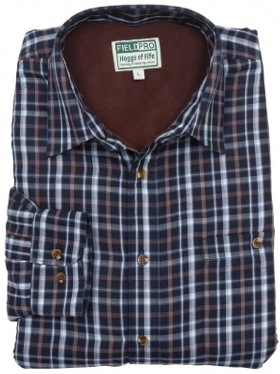 Hoggs of Fife Bark Micro Fleece Lined Shirts