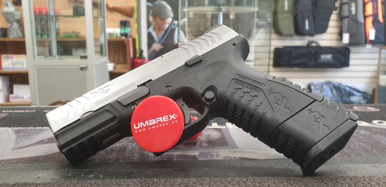"Springfield XDM 3.8"" Co2 Powered Air Pistol .177"