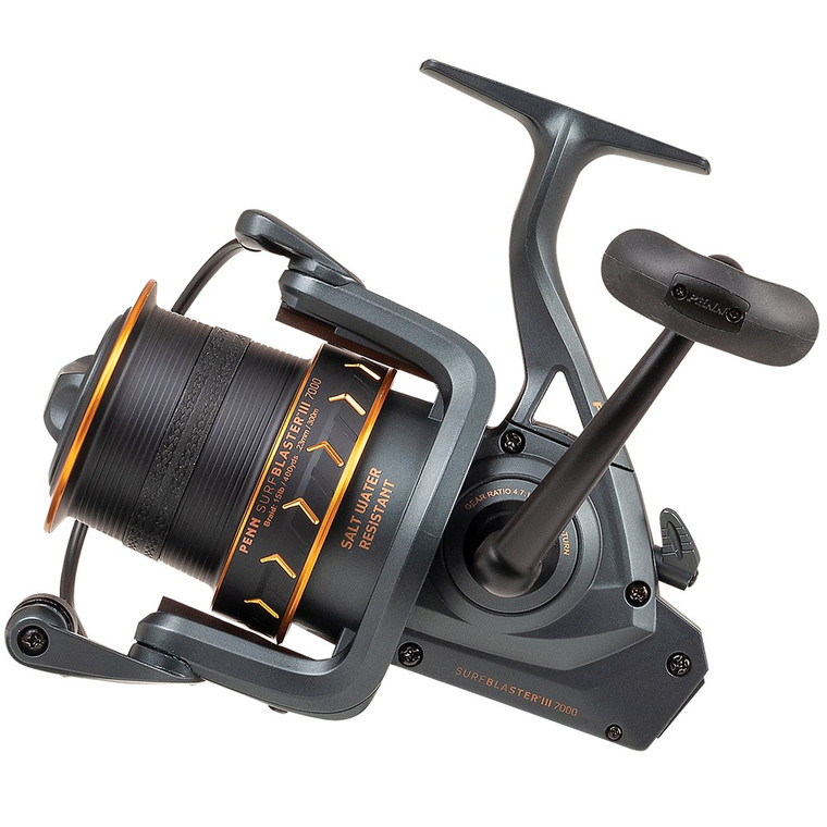New 2020/21 - Penn Surfblaster III 8000 LC Longcast Fixed Spool Fishing Reel