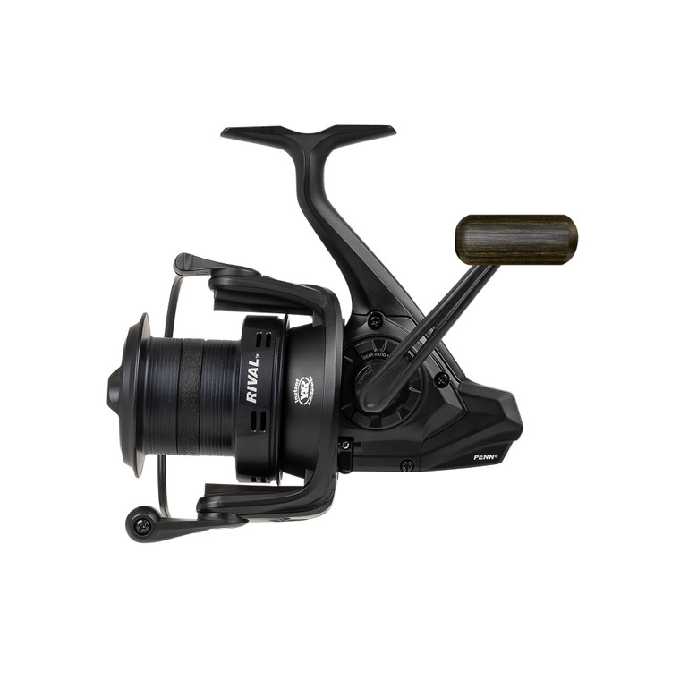 New 2020/21 - Penn Rival 6000 LC Longcast Black Fixed Spool Fishing Reel