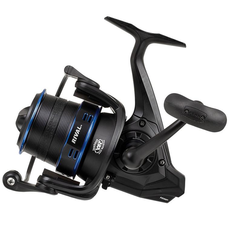 New 2020/21 - Penn Rival 6000 LC Longcast Blue Fixed Spool Fishing Reel