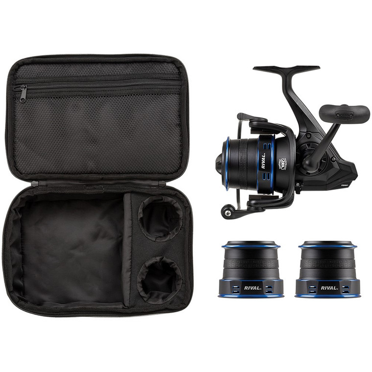 New 2020/21 - Penn Rival 7000 LC Longcast Surf Pack Blue Fixed Spool Fishing Reel