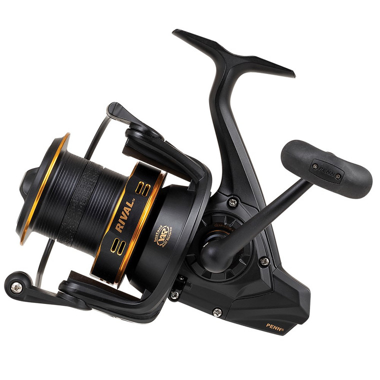 New 2020/21 - Penn Rival 7000 LC Longcast Gold Fixed Spool Fishing Reel