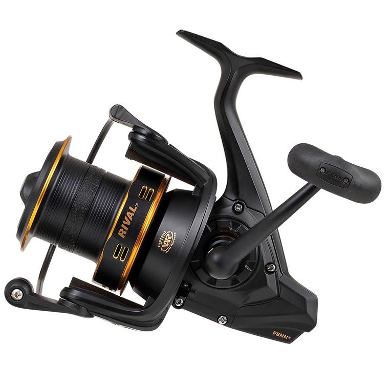 New 2020/21 - Penn Rival 6000 LC Longcast Gold Fixed Spool Fishing Reel