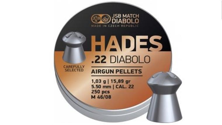 JSB Diablo Hades Pellets - 22