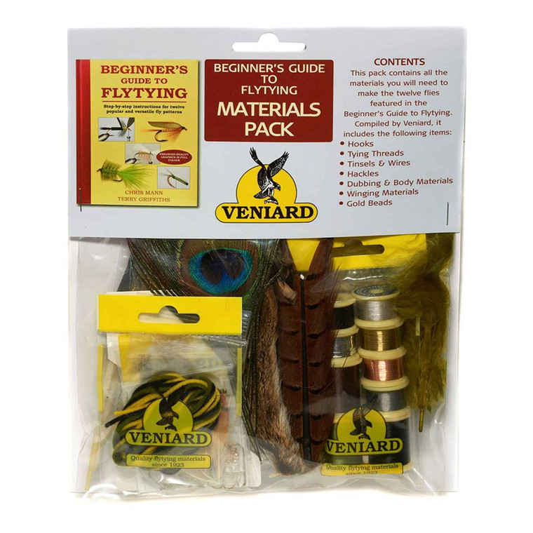 Veniard Material Fly Tying Pack