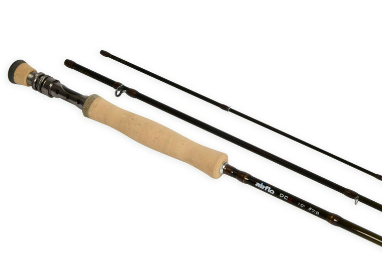 Airflo DC2 Three Piece Trout Fly Fishing Rod 9ft 6in #6/7 Fly Line.NEW