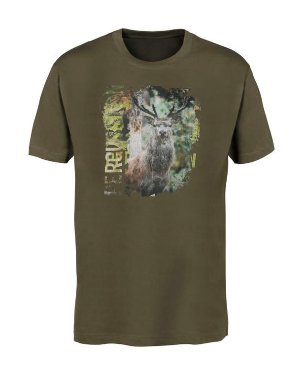 Percussion Deer Silkscreen T-Shirt
