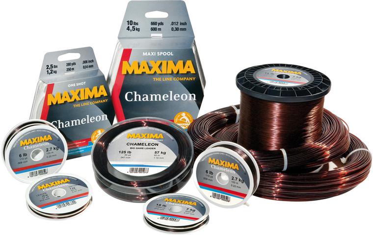 Maxima Chameleon 600m Bulk Spool Heavy Mono