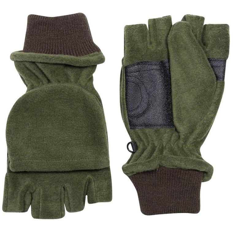 Jack Pyke Shooters Mitt Glove in Green