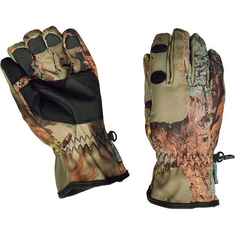 Percussion Ghost camo Forest shooting Glove