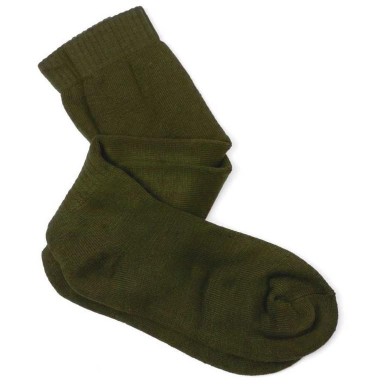 Percussion long socks in Green