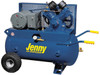 Jenny G5A-30P-230/1-DCSD 5 HP 230 Volt Single Phase 30 Gallon Portable Air Compressor with Dual Control