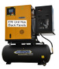 EMAX ERIK020003 230 Volt 20 HP Three Phase Rotary Screw Air Compressor with Dryer