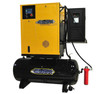Emax ERSK100001 10 HP Single Phase Rotary Screw Air Compressor with Dryer