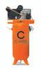 C-Aire A050V060-1230 5 HP 208-230 Volt Single Phase Two Stage 60 Gallon Air Compressor