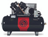 Chicago Pneumatic RCP-C10123HS 10 HP 208-230 Volt Three Phase Two Stage Cast Iron 120 Gallon Air Compressor