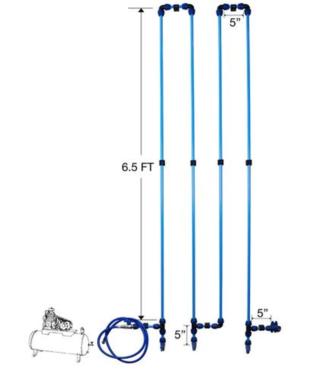 QLK32 Air Cooling Piping System 1/2""