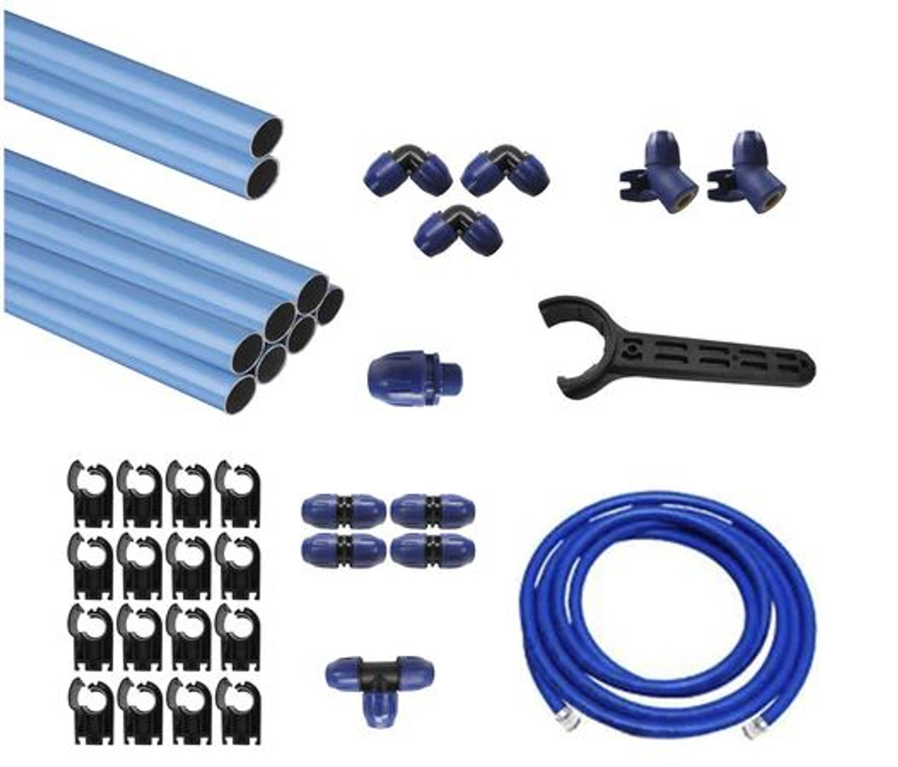 "QLKIT2 98 Foot 3/4"" Aluminum Piping System"