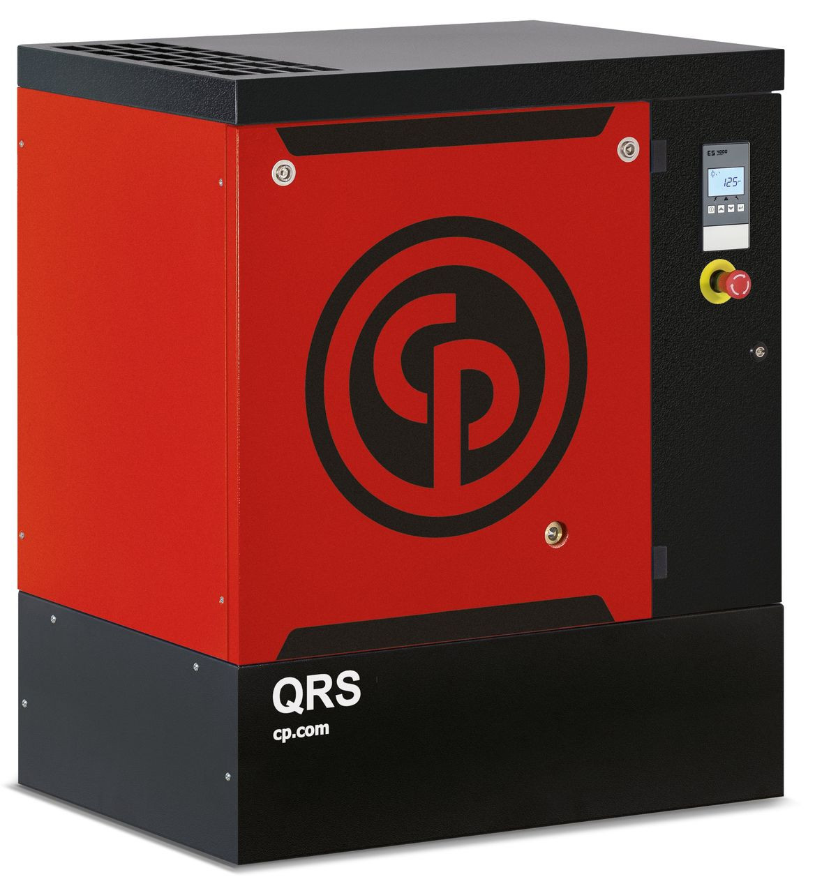Chicago Pneumatic QRS15HP-150 BM 15 HP 150 psi Base Mount Rotary Screw Air Compressor