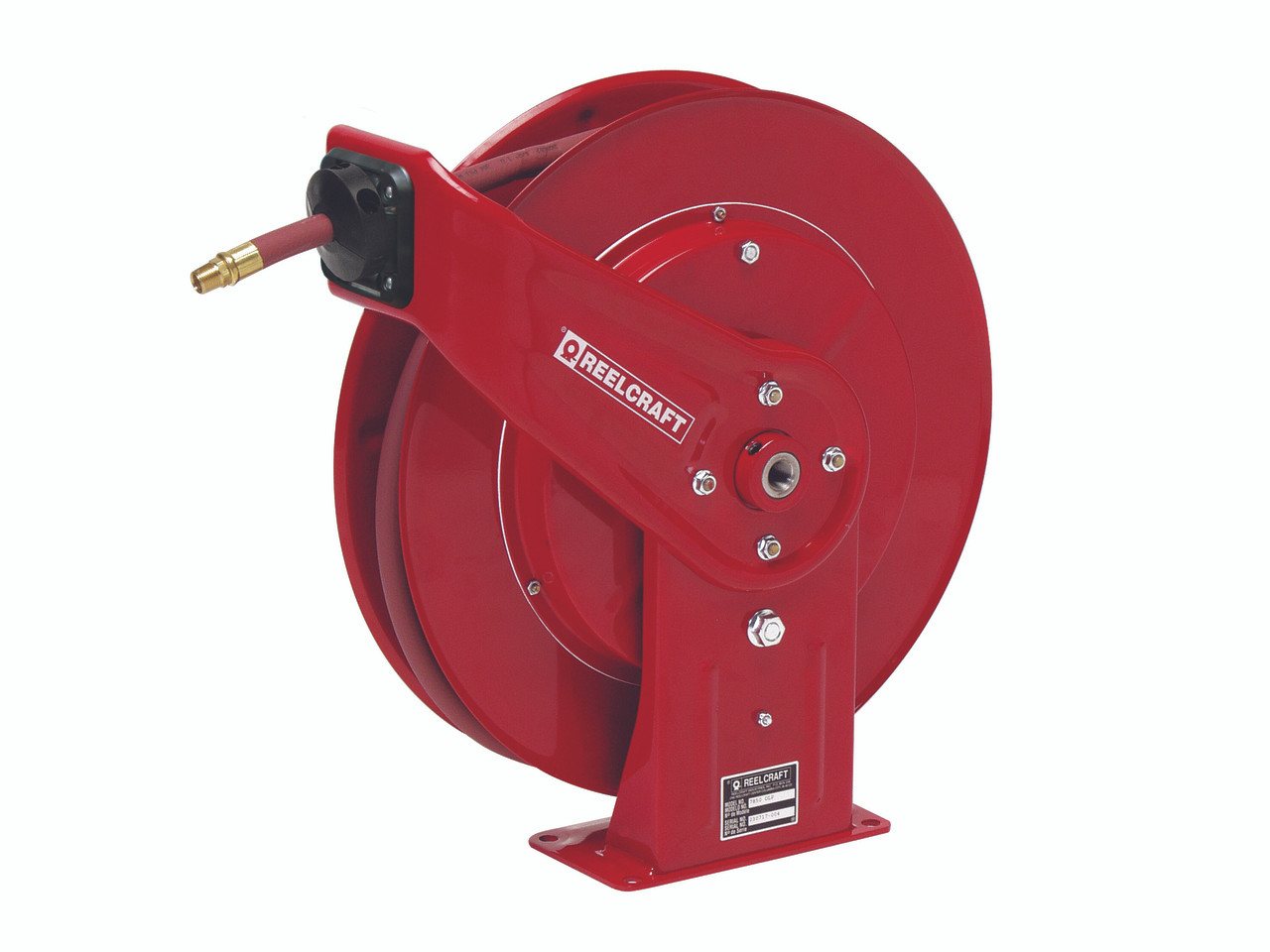 """Reelcraft 7925 OLP Heavy Duty Spring Retractable Hose Reel with 25 Feet of Hose 3/4"""""""