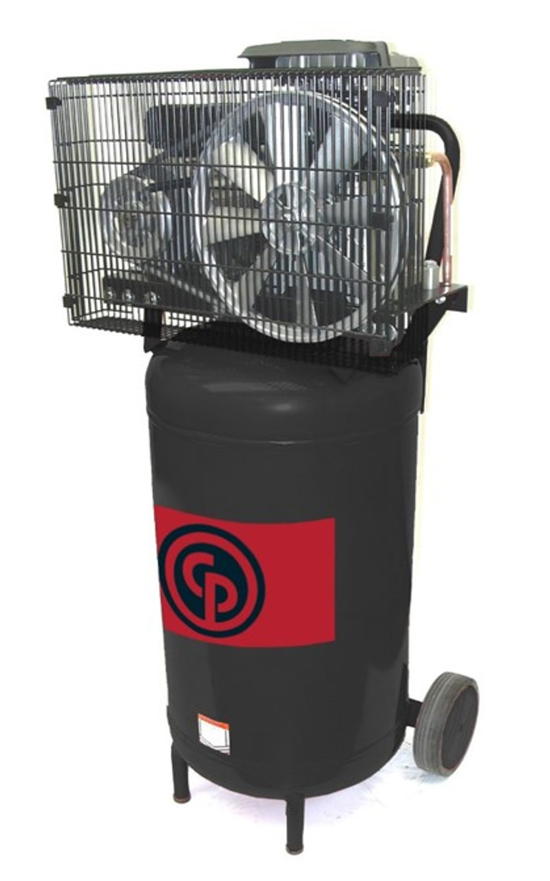 Chicago Pneumatic RCP-224VP 2 HP 115/230 Volt Single Phase 24 Gallon Vertical Portable Air Compressor