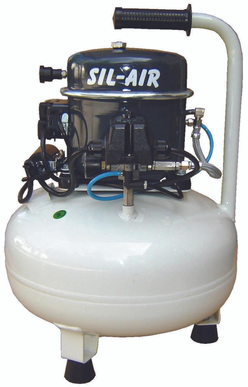 Sil-Air 50-15 1/2 HP 110 Volt 4 Gallon Silent Air Compressor by Silentaire Technologies